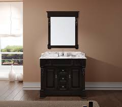 40 Bathroom Vanities Abodo 40 Inch Transitional Bathroom Vanity Espresso Finish