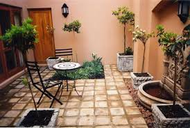 adorable design ideas for your small courtyard vintage style courtyard in summer backyard flower