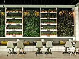 Indoor Vertical Gardens - 6 inspiring ideas for vertical gardens in restaurant u0026 bar design