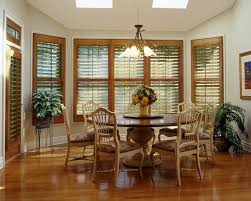 Traditional Interior Shutters Bahama Shutters Dining Room Traditional With Blinds Drapery
