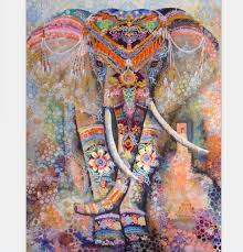 tapestry home decor mandala tapestry 200cm polyester wall tapestry indian elephant