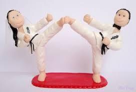 karate cake topper wedding cake martial arts wedding cake toppers martial arts