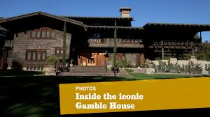 Gamble Roof The Gamble House In Pasadena An Arts And Crafts Masterpiece La