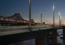 Bay Bridge Lights Bay Bridge Cutting Edge Led Lights Create Unique Night Landscape