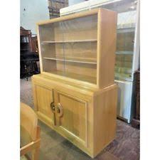Heywood Wakefield China Cabinet Mid Century Modern Antique China Cabinets 1950 Now Ebay