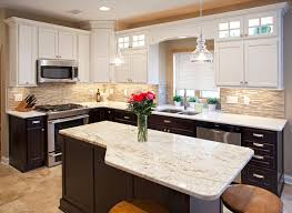 Two Tone Kitchen Cabinet Two Tone Kitchen