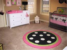 Round Pink Rug For Nursery Attractive Round Nursery Rugs Design Editeestrela Design