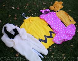 snoopy and woodstock halloween costumes my kids halloween costumes the peanuts craft o maniac