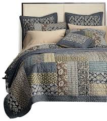 Paisley Single Duvet Cover Tommy Bahama Blue Paisley Floral King Size Quilt Set Reversible