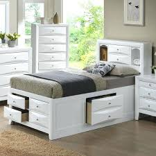 Bookcase Headboard Queen Bookcase Queen Bed Frame With Shelf Headboard Twin Bed Frame