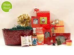 christmas gift baskets free shipping home for the holidays christmas gift basket thoughtful presence