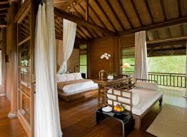 como shambhala estate bali wooden and white pavilion style guest