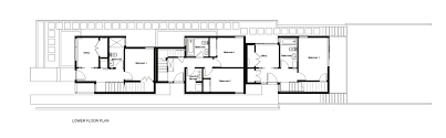 Dwell Floor Plans by Gallery Of 18th Ave City Homes Malboeuf Bowie Architecture 12