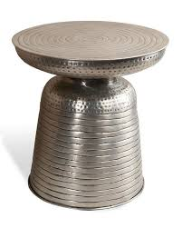 Silver Accent Table Bindu Silver Accent Table