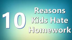 Why Homework Is Good Top 10 Reasons Kids Homework Youtube