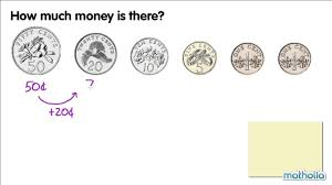 counting money in cents youtube