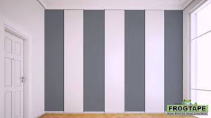 Colors To Paint Bedroom by How To Paint Stripes On A Wall Youtube