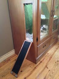 diy rabbit hutch you can put it outside and have an attached