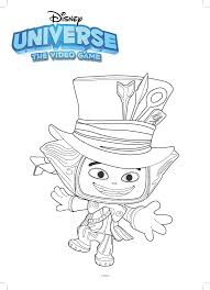 mad hatter coloring pages