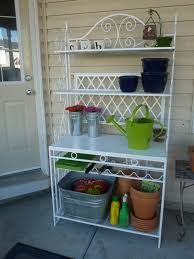 Patio Bakers Rack Outdoor Bakers Rack Home Design By Fuller