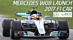 mercedes amg petronas f1 mercedes amg petronas f1 team w08 2017 f1 car launch hd