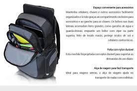 Conhecido Mochila Dell Tek 460-BBQC - Para Notebooks até 15,6