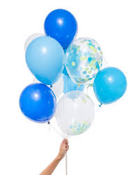 party balloons blue party balloons pixie dust party spot