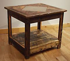 Wood Plans For Small Tables by Best 25 Wood End Tables Ideas On Pinterest Diy Furniture Plans