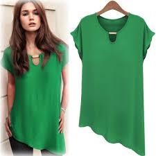 green womens blouse xxxl plus size cropped chiffon blouse white tops for blouses