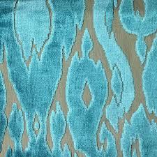 Peacock Velvet Upholstery Fabric Harrow Abstract Cut Velvet Upholstery Fabric By The Yard 16 Colors