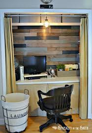 organized office in a close creatively living blog