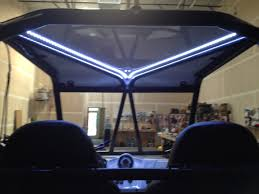 Led Light Bar Utv by Rzr Xp900 Custom Roll Roll Cage With 30
