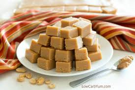 cream cheese peanut butter fudge sugar free low carb yum