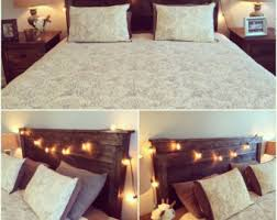 Headboards With Built In Lights Headboard Etsy