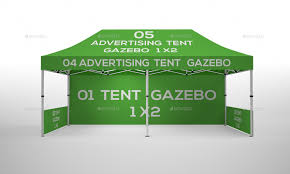 Gazebo Tent by Tente Gazebo 2x1 Mockup Vol 03 By Brahmia Graphicriver