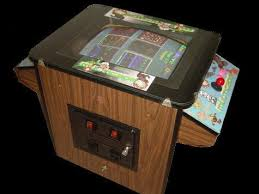 Pacman Game Table by Thirty Nine Classic Games In One Cabinet