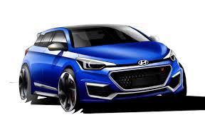 hatchback hyundai hyundai i20 n hatchback nearing unveil rendering