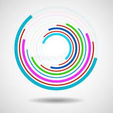 imagenes abstractas con circulos círculos abstractos de la tecnología logotipo geométrico