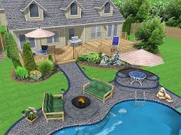 Best  Backyard Layout Ideas On Pinterest Front Patio Ideas - Backyard landscape design pictures