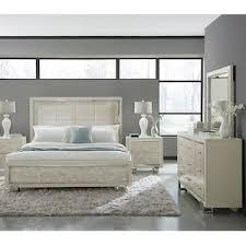 white ash bedroom furniture cydney 4 piece king bedroom set in swirly white ash nebraska