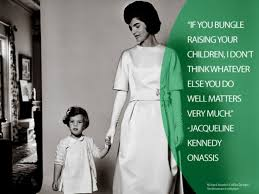 former first lady jacqueline kennedy onassis had two children with