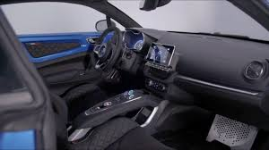 2017 alpine a110 interior 2018 alpine a110 youtube