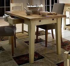 Esszimmer Tisch Massiv Esszimmertisch 200x100 Eiche Esstisch 2 Schubladen 2farbig Antik