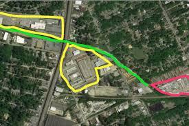 Atlanta Beltline Map Chunk Of Westside Trail Beltline Property Suddenly Up For