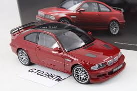 red bmw e46 bmw m3 gtr e46 street version red 1 18 ebay