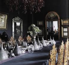 Gothic Dining Room Furniture Dining Room Stunning Gothic Kitchen And Dining Room Designs With