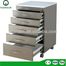 dental cabinets for sale mobile metal dental furniture cabinets with 5 drawers for dental