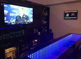man cave spotlight custom made bar u0026 game room u2022 mancaved