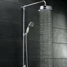 Outdoor Shower Head Copper - shower head diy copper piping rain shower head rustic shower