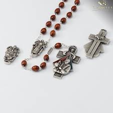 wooden rosaries mercy rosary with wooden rosary ghirelli